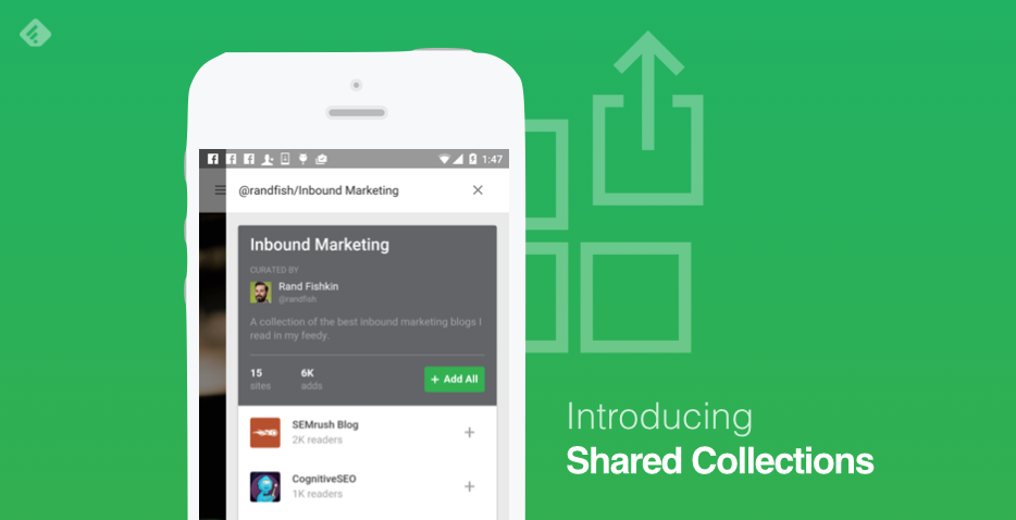 Feedly Shared Collections
