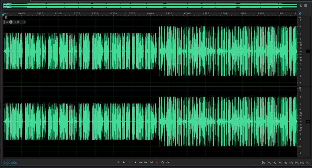 Waveforms after Leveling