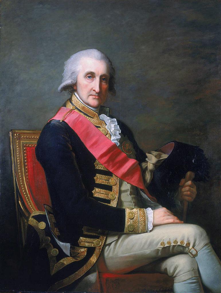 Admiral George Brydges Rodney, 1st Baron Rodney, 1791