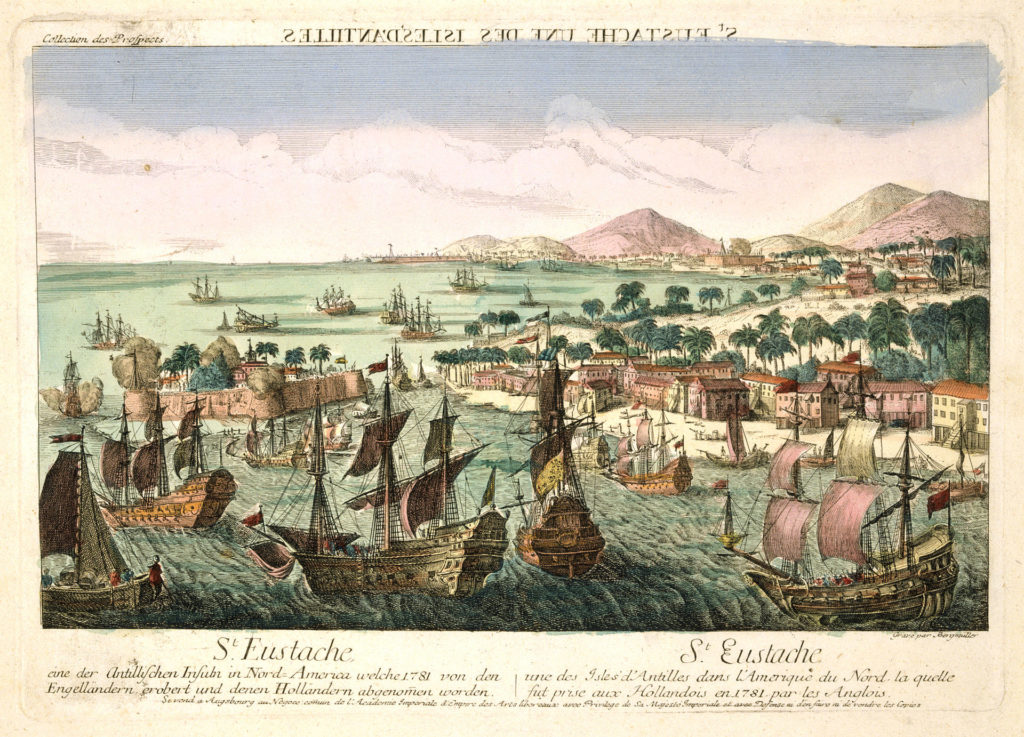 British Fleet captures Sint Eustatius, February 1781