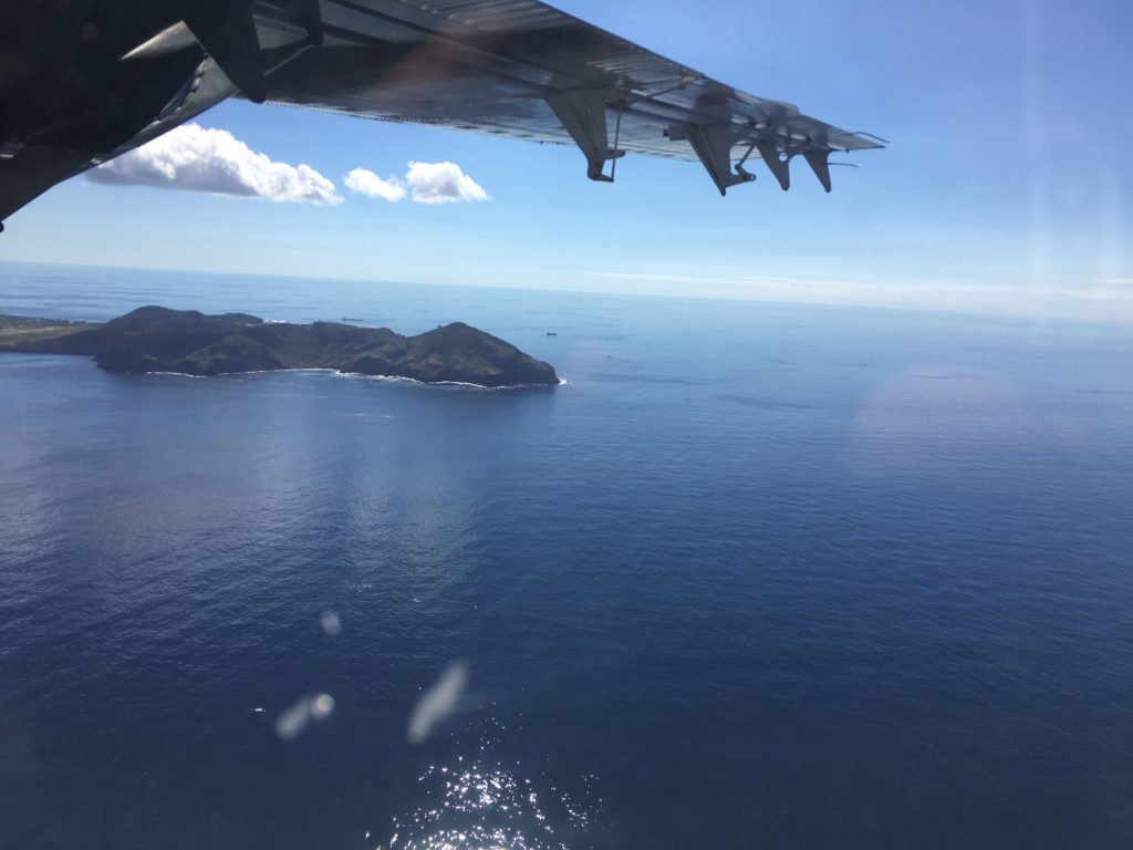 Sint Eustatius from the Air