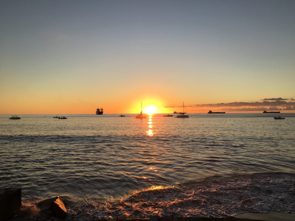 Statian Sunset
