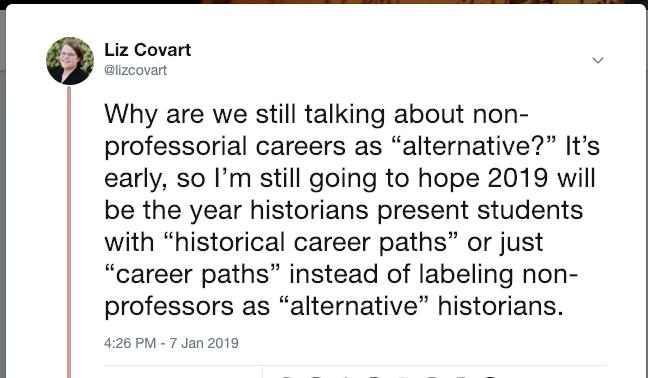 Career Path Tweet