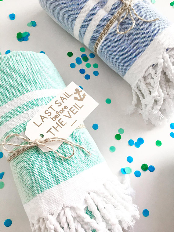 Turkish Tassel Towel by LoTide, $20.50. Image via LoTide