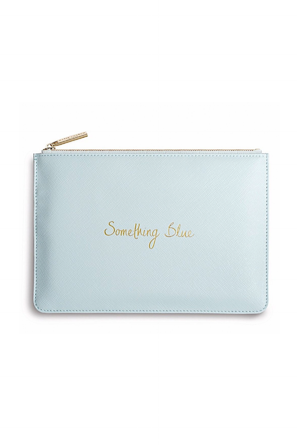 Something Blue Wedding Day Clutch | Image via Lou Lou Boutiques