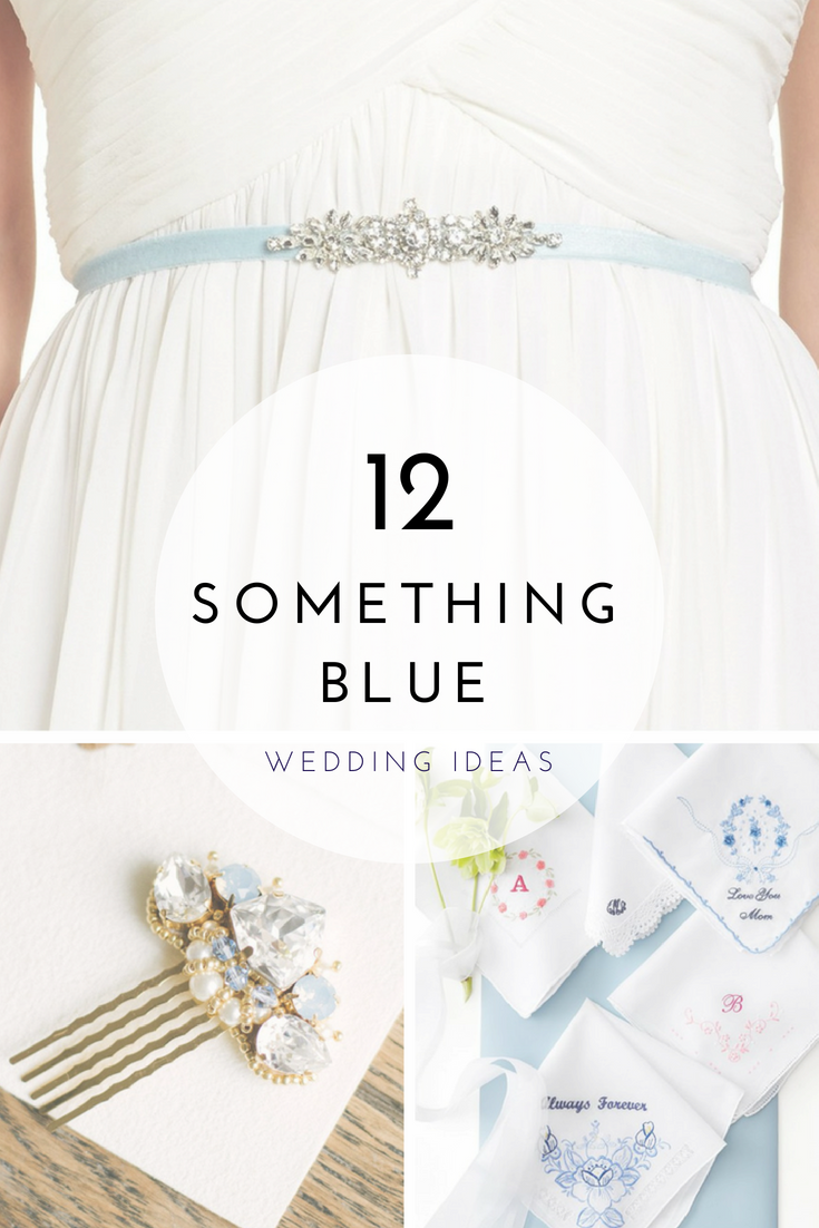 12 Something Blue Ideas for Your Wedding