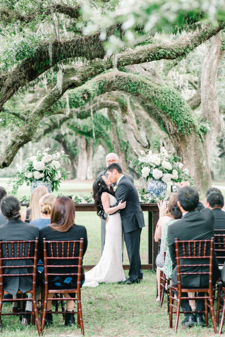 Boone Hall Wedding, Photo by Aaron and Jillian Photography