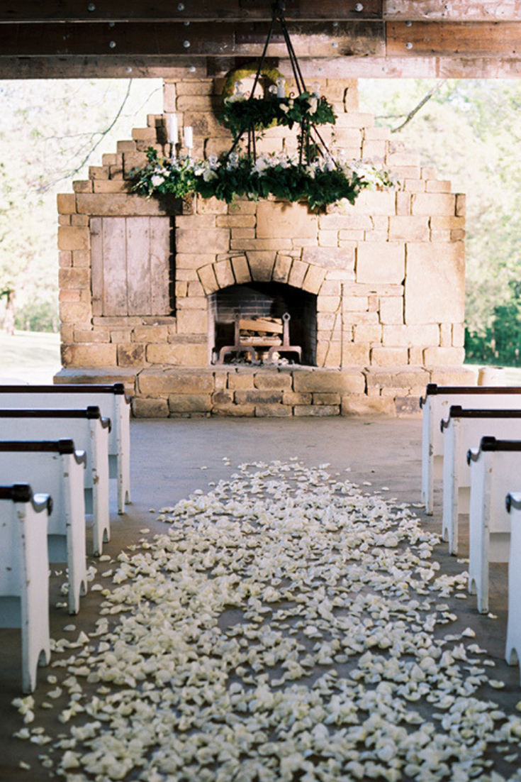 Rustic outdoor wedding at Bloomsbury Farm just outside Nashville, Tennessee. Photo by Austin Gros.