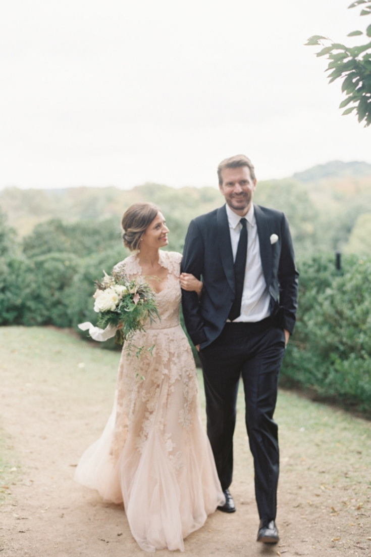 Ethereal Garden Wedding at Cheekwood Botanical Gardens in Nashville, Tennessee. Photo by Jessica Lorren.