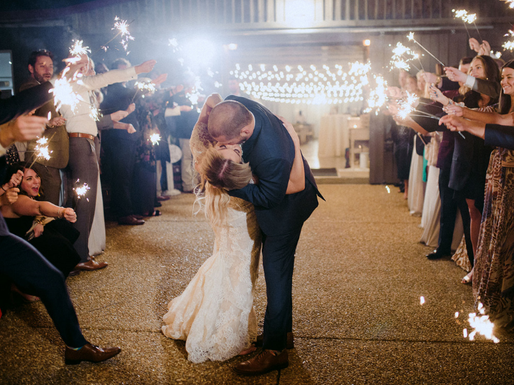Sparkler send off at Drakewood Farm in Nashville fall wedding with Airey and Jack.png
