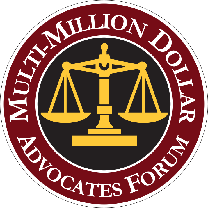 Multi Million Dollar Advocates Forum | Powell Law Group | Personal Injury Case Winner.png