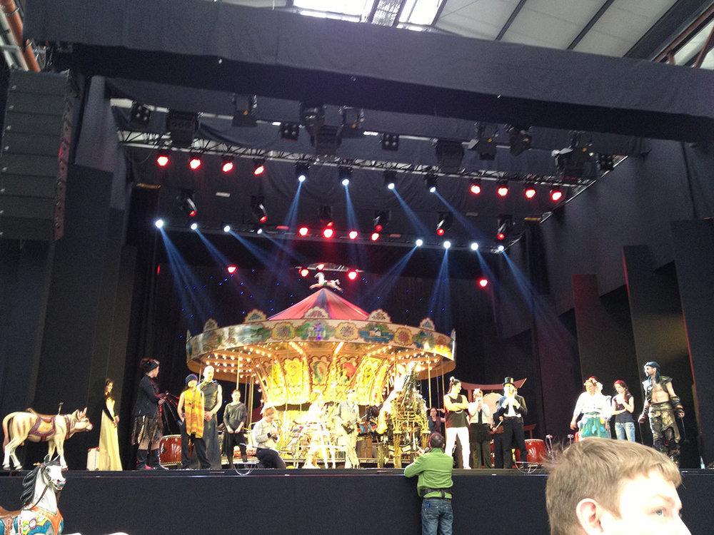 Klangbild Bühnentechnik