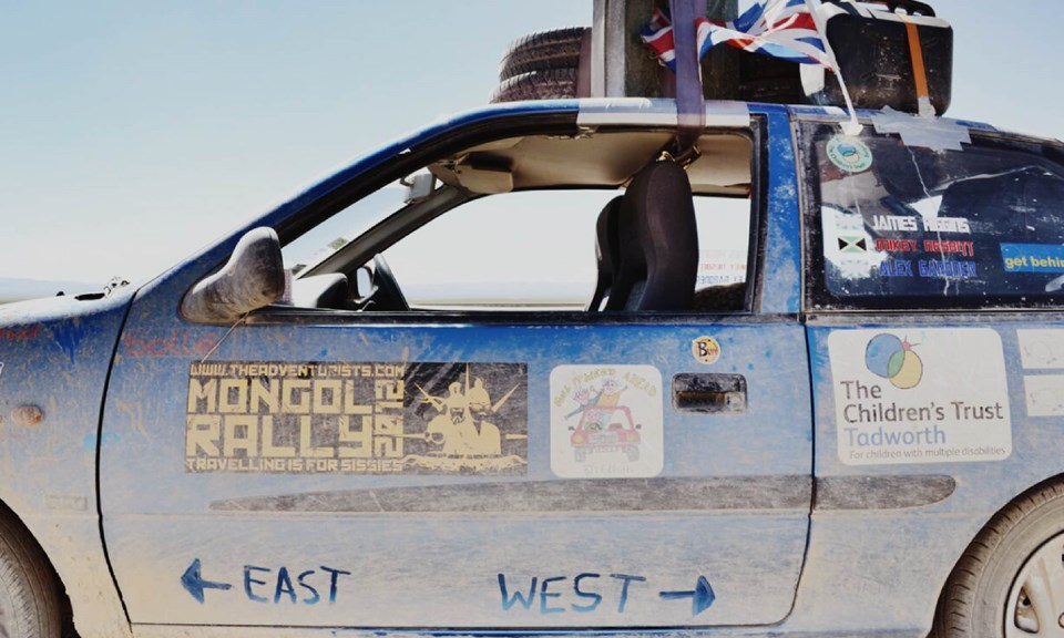 Wanderlust Magazine - Mongol Rally vehicle (James Higgins)