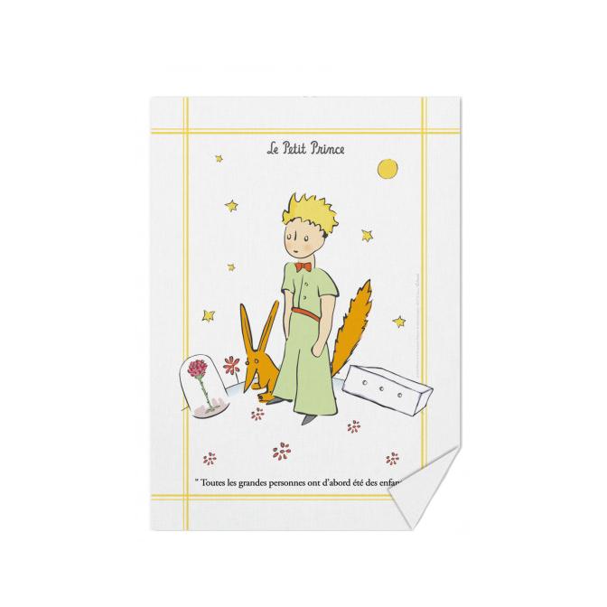 Le Petit Prince Fox Dish Towel Au Marche