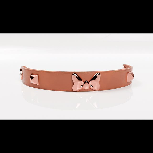 🎀✨Handcrafted, custom, and downright one of a kind.... We designed these leather bracelets in house, creating custom rivets and using premium leather sourced from one of the oldest tanneries in the USA. We're not saying we're over sandals, but these will be very, very awesome 😎✨ . . We have a few digital images to share - Swipe to see the different colors. Let us know your favorite between the Rose Gold, Gold, and Millenial Pink 🎀 Our first design will showcase the Minnie bow 🎀 . . You guys are awesome! Happy Friday! 😎🌷