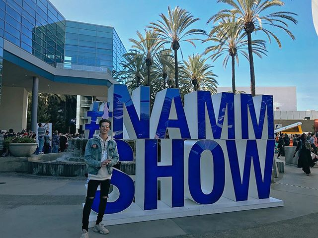 another 24 at NAMM🎙🎸