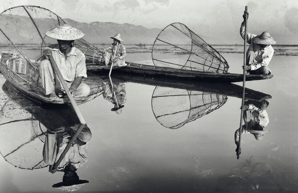 Whilst Myanmar is going through yet more troubled times, its hard not to forget that parts of this beautiful country remain calm. This image taken a few years ago now is an edition of ten within each size category, embossed and signed. https://www.jonnicholson.co.uk/shop/the-fishing-trip-1