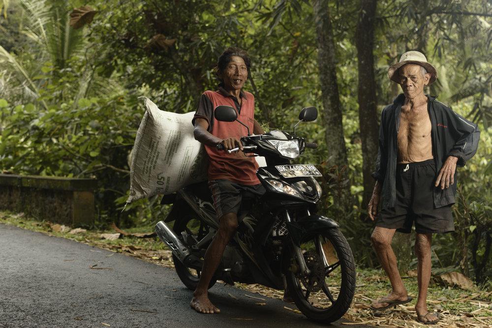 Villagers, Tabanan, Bali