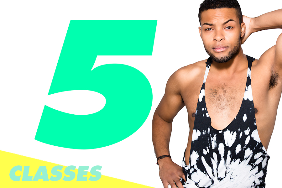 5 CLASSES: $115 - $23/class. Expires in 3 months.