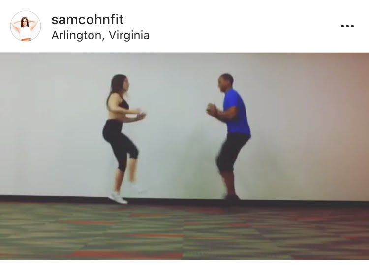 Speaking of duos, DC's Sam throws down in this fun and challenging partner warmups you should do before you kill it during your workouts!