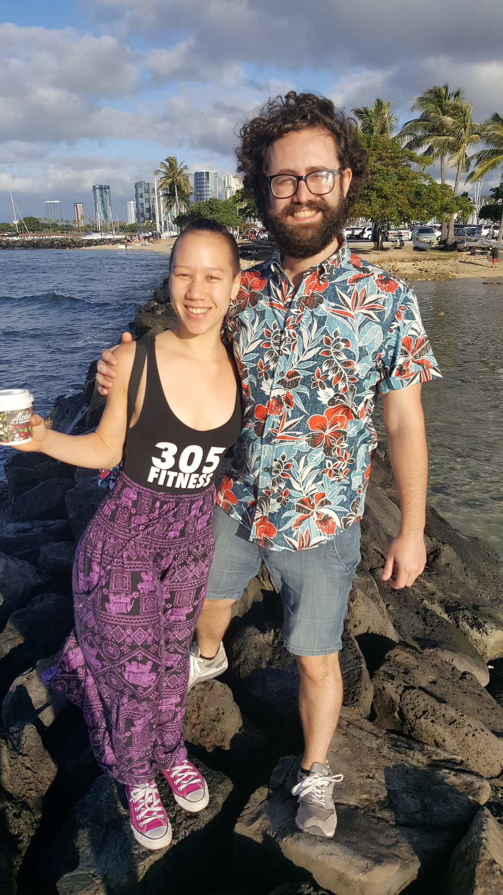 305 Fitness Instructor Wisty and Partner Julien