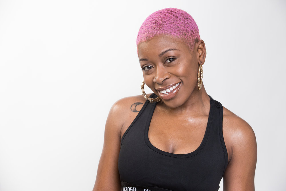 CHARAE  - .You'll be flying off the walls in this non-stop, high-energy class. Charae's infectious smiles and non-judgemental vibes create a true party atmosphere.