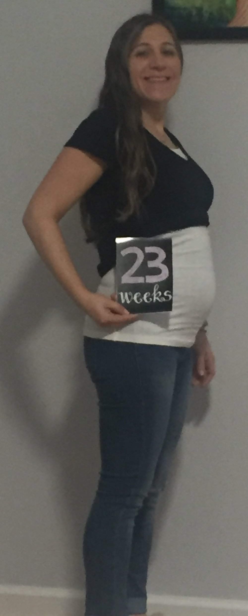 Baby on board - Jenn is 23 weeks and counting!