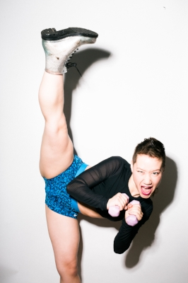 photo of Wisty high kick