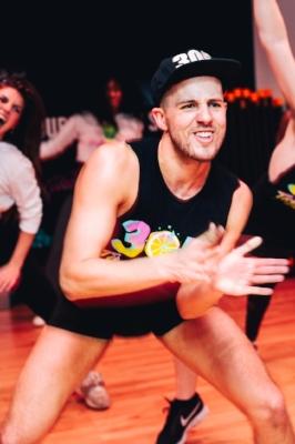 photo of matty dance fitness