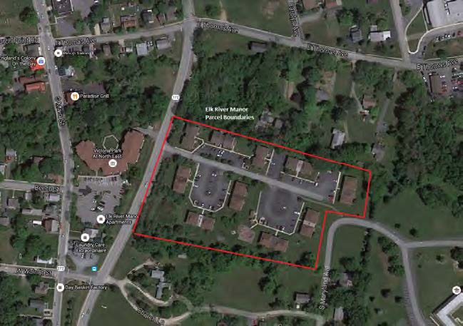 Elk River Manor North East, MD - Units: 79Land Area: 5.01 AcresBuilding Type: Ten Garden (walk-up) BuildingsPlaced in Service: Fall 2018