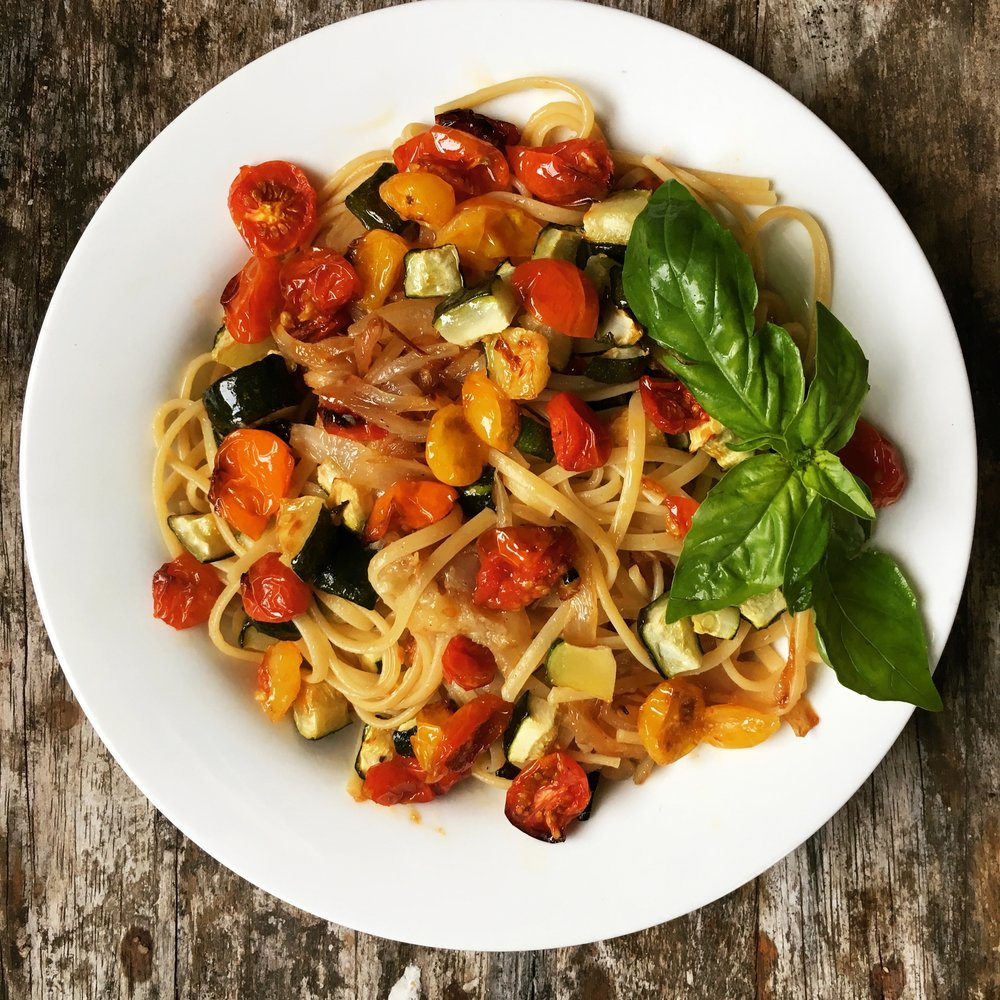 ©Roasted Cherry Tomato Pasta by Susan Reid