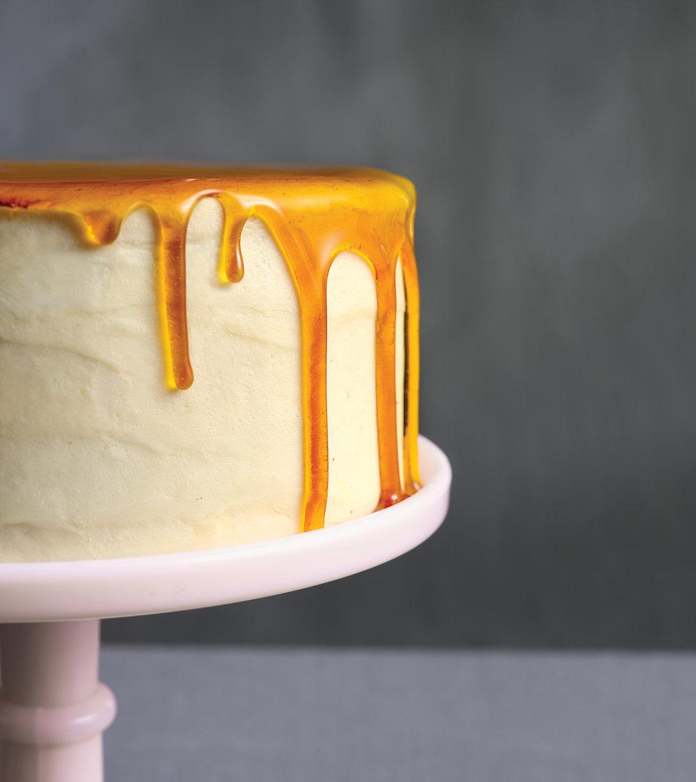 Foodstyling: Caramel Cake