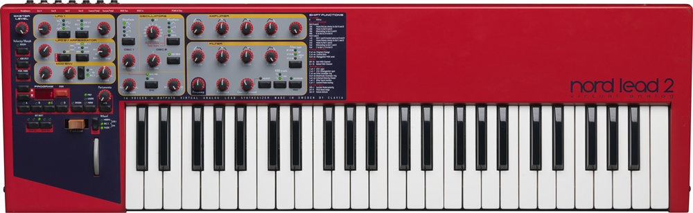 The Nord Lead 2 (image courtesy of Clavia)