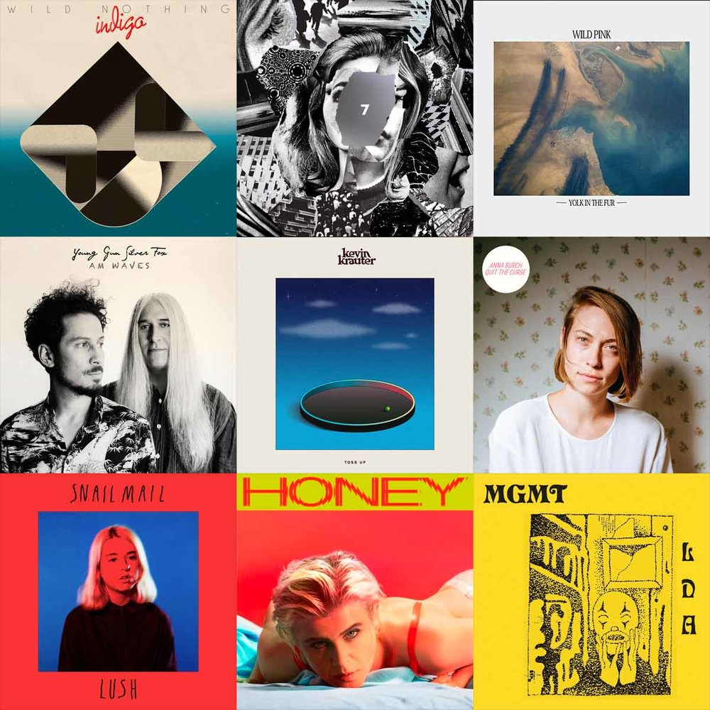 Favorite 50 Tracks of 2018 - Here is also a playlist of my favorite tracks of the year in order from absolute favorites to absolute jams. I tried to limit it to ONE song per artist.