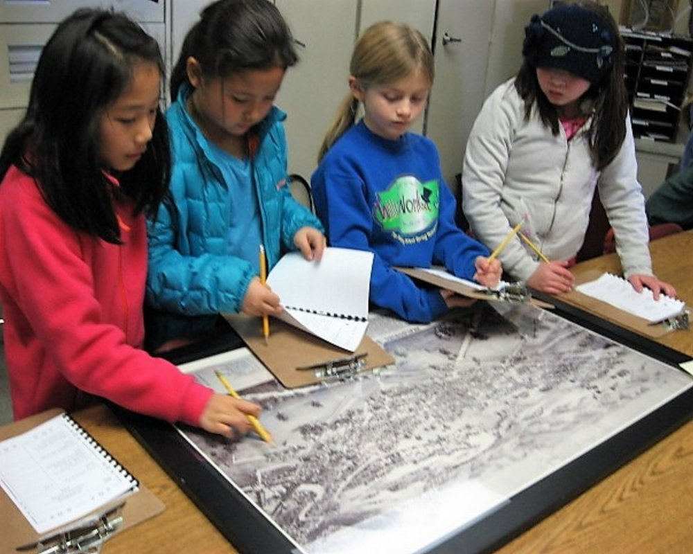 The Healdsburg School Students Doing Map Research Edited.jpg