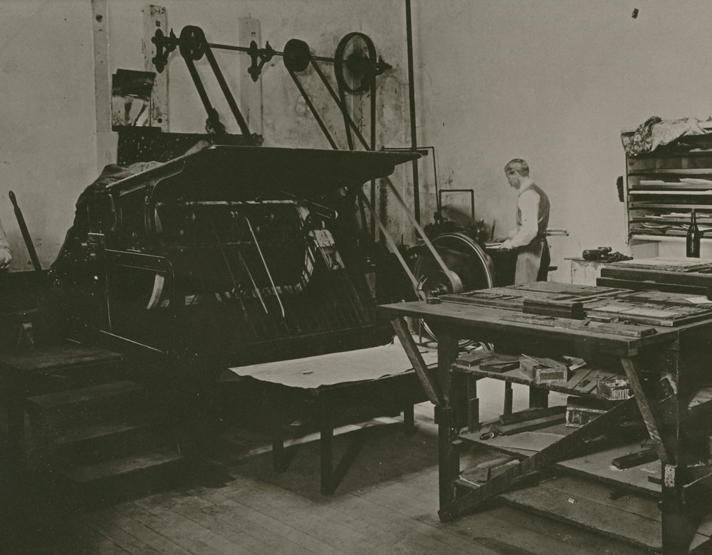 Tribune Printing Press