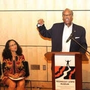 Senator McFadden giving remarks at the Reginald F. Lewis Museum of Maryland African American History & Culture
