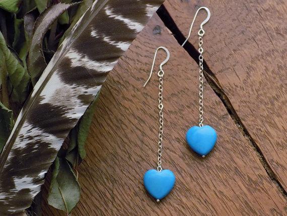 fallen heart / in turquoise -