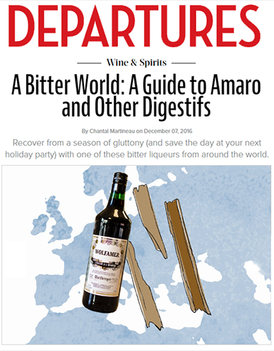 Departures Magazine Arts & Culture / Wine & Spirits By Chantal Martineau