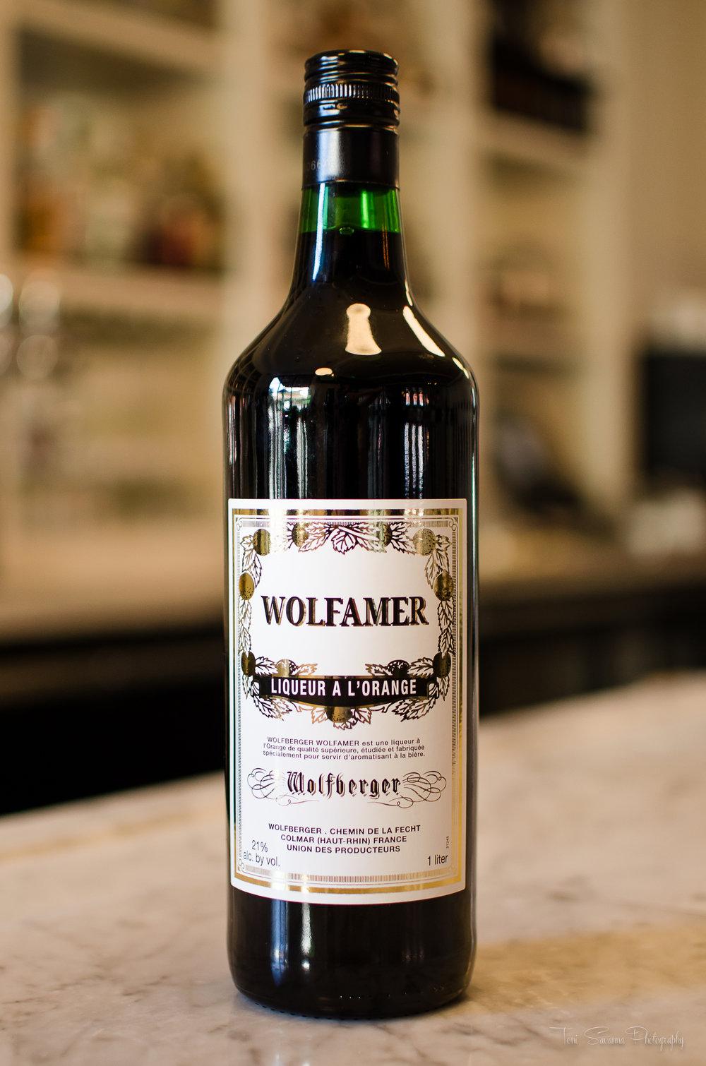 Wolfberger Wolfamer Bottle shot.
