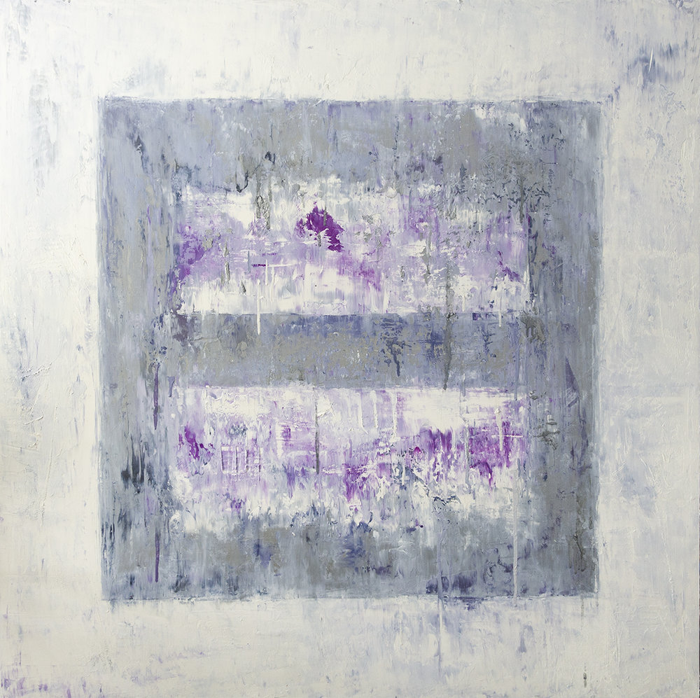 Ice Cube Small Purple (Study), 2017