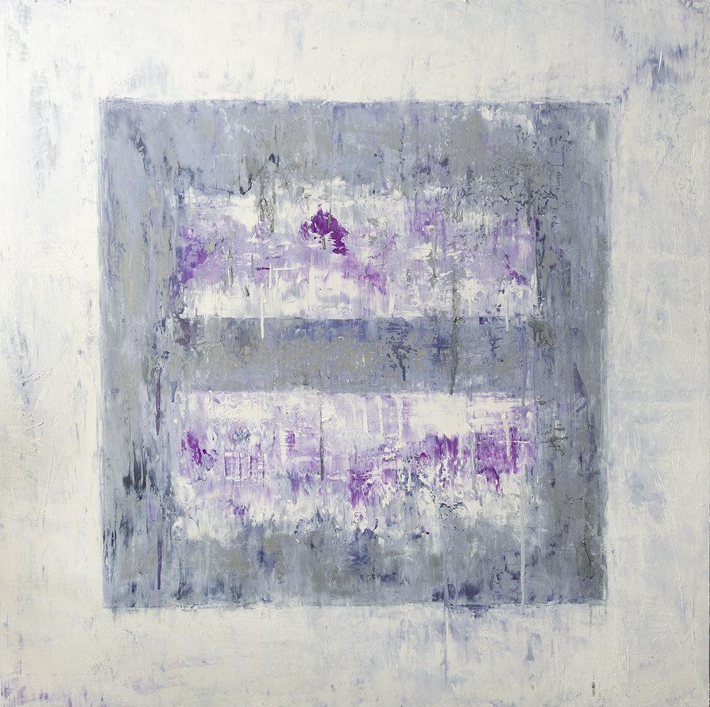 Ice Cube Small Purple (Study), 2017
