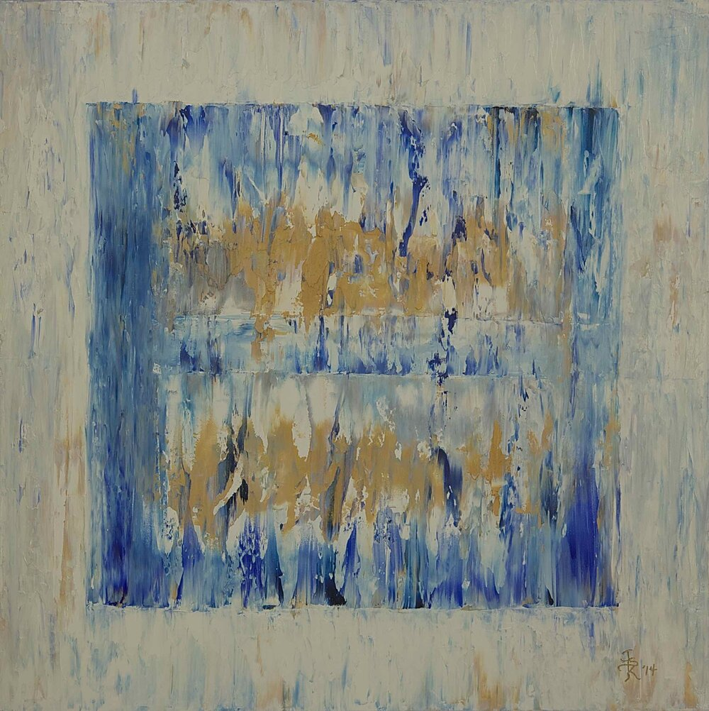 Ice Cube Small Blue, 2013