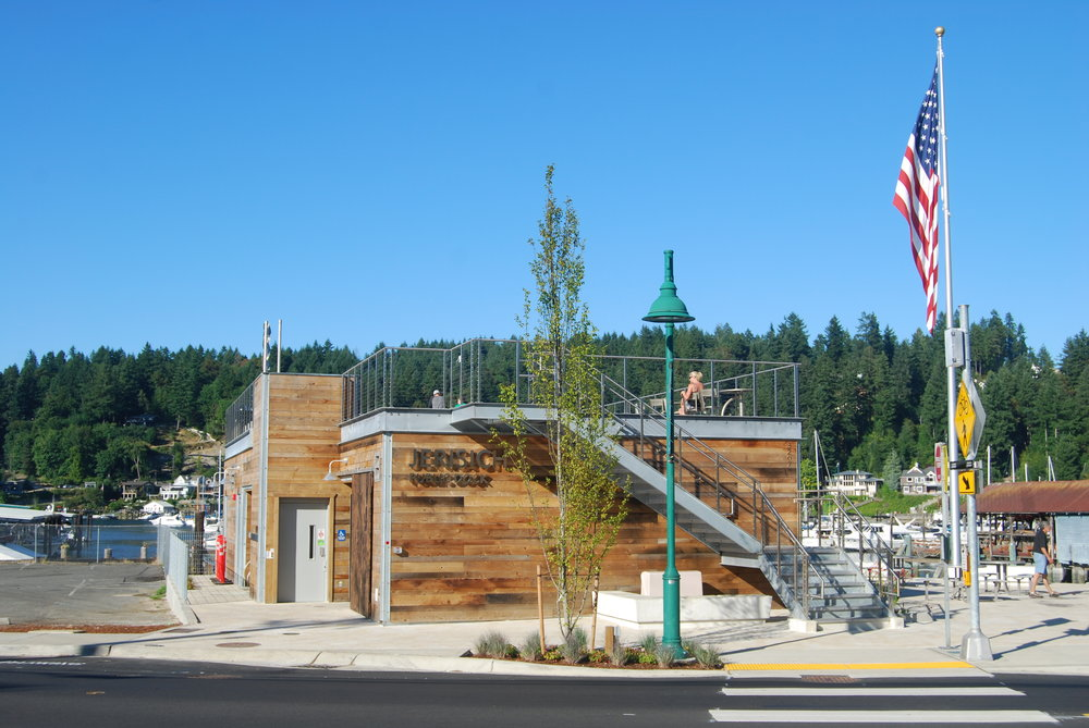 Gig Harbor Welcome Plaza -