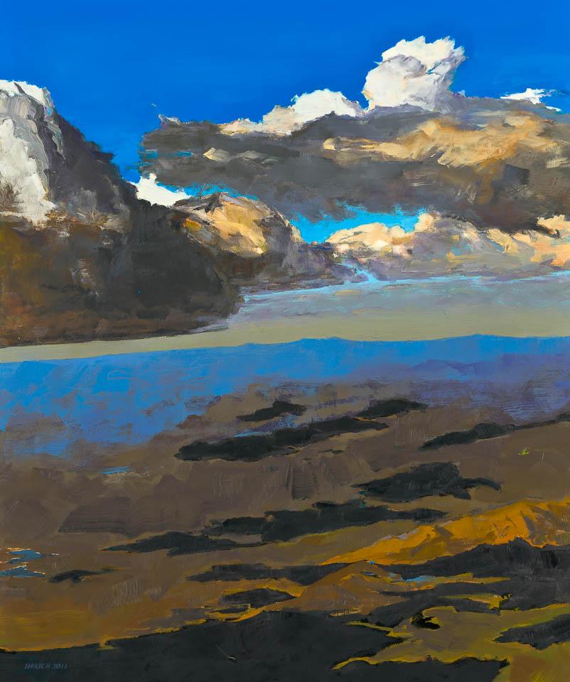 """Cloud 1 DEN  36 x 30"""", Oil on Linen"""