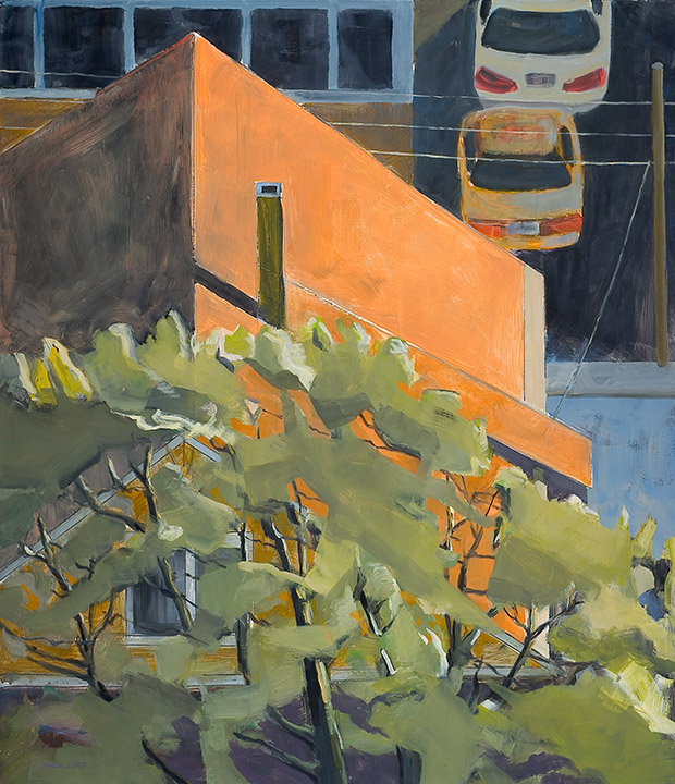 "<i>Somerville 3</i> <br> 42 x 36"", Oil on Linen"