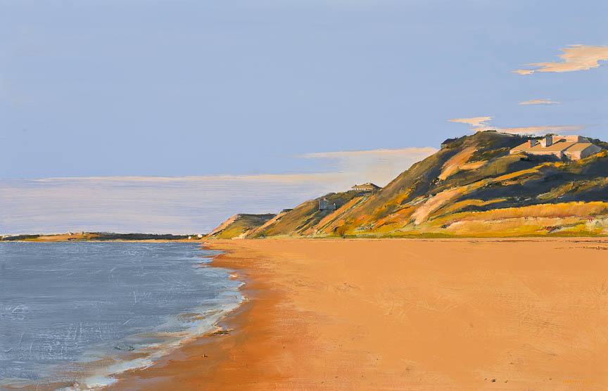 "<i>Truro 3</i> <br> 46 x 30"", Oil on Linen"
