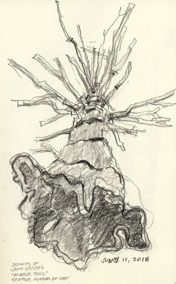 Tree Portrait, Graphite on Paper
