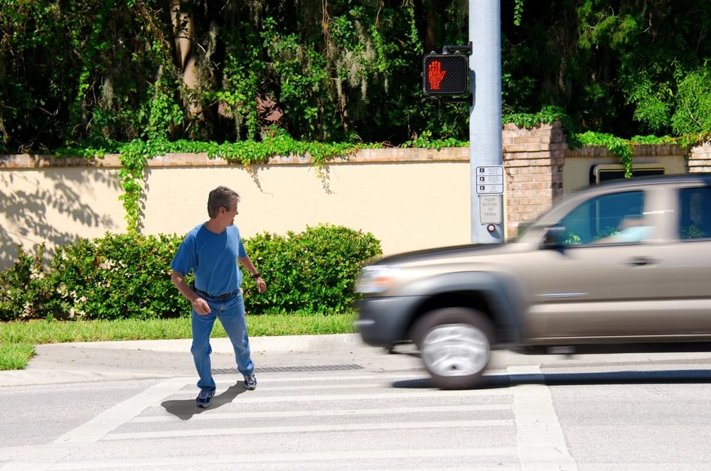 pedestrian in San Diego hit by car
