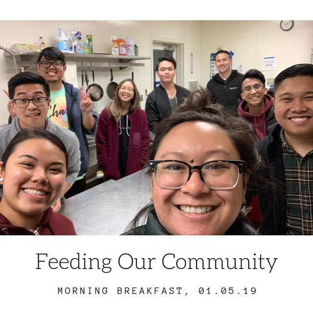 Thank you to everyone who donated and helped cook breakfast for our homeless brothers. 🥞 Our next Feeding Our Community will be on Thursday, February 21st for dinner! Check our our Facebook page for more details. 🍽